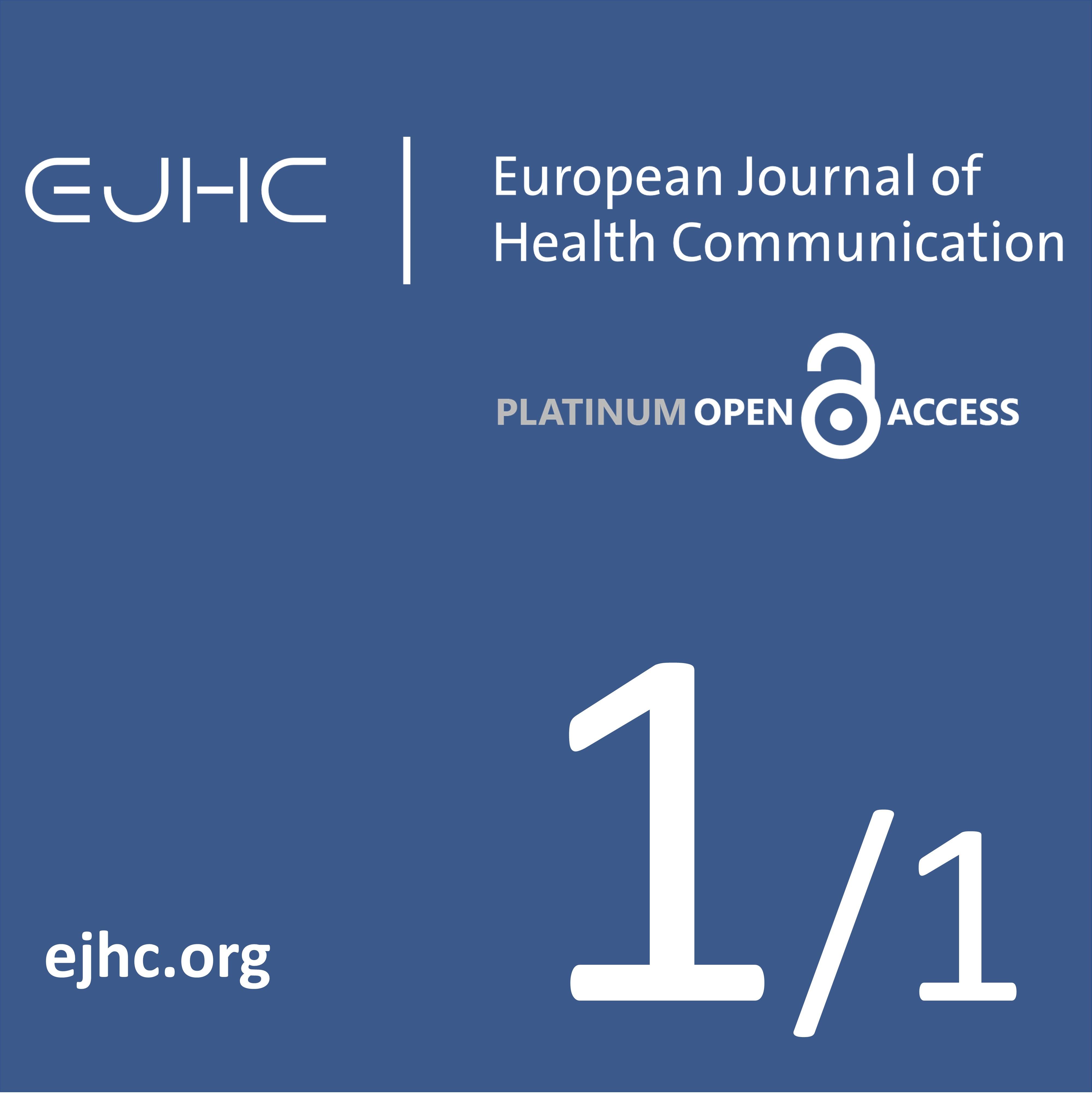 EJHC - European Journal of Health Communication